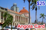 Angola Phone Card, international phone cards