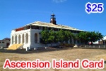 Ascension Island Phone Card, international phone cards