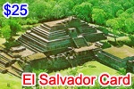 El Salvador Phone Card, international phone cards