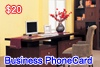 Business Phone Card, UK(area code:1,2), UK(area code:1,2),UK(area code:1,2)