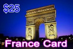France Phone Card, international phone cards