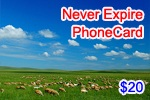 Never Expire Phone Card, international phone cards